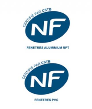 NF Fenêtres PVC et Aluminium
