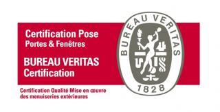 Bureau Veritas certification POSE Portes & Fenêtres