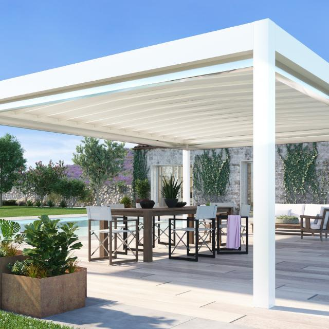 Pergola bioclimatique ou à store retractable à Lattes